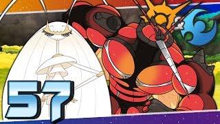Pokémon Sun and Moon - Episode 57 | UB-02 Buzzwole and Pheromosa!