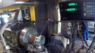 Making Parts To World Largest Fidget Spinner With Our Medium Sized Lathe