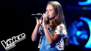 """Oliwka Kopiec – """"Mam tę moc"""" – Przesłuchania w ciemno – The Voice Kids Poland"""