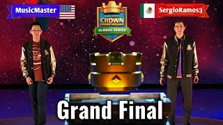 [Best Grand Final] Sergio Ramos VS Music Master Full Match [Crown Championship 2017 Clash Royale]
