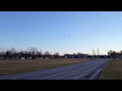 RC Flyzone Cessna 350 Corvalis Evening Flight With Loops And Passes