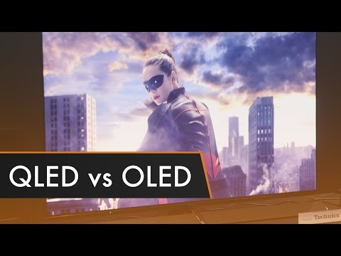 QLED vs OLED Which is Better CES 2017
