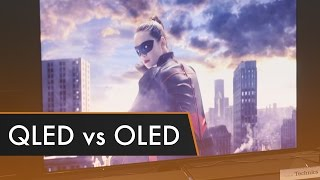QLED vs OLED - Which is Better?   CES 2017