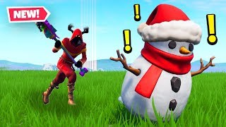 we BULLIED the snowmen in fortnite