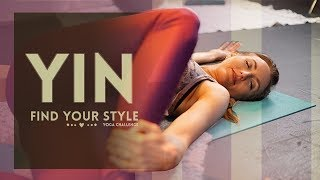 Meet Yin Yoga - Full Class for Beginners | Stretch & Relax for Flexibility (30-min) All Levels