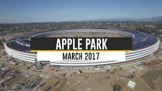 APPLE CAMPUS 2/APPLE PARK: March 2017 Update 4K