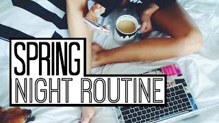 Spring Night Routine | Kalyn Nicholson