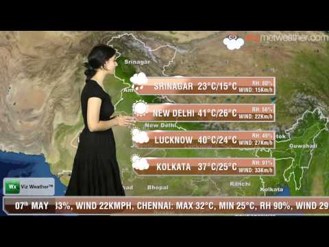 07/05/14 - Skymet Weather Report for India