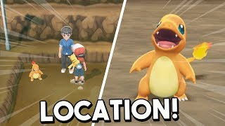 Where To Find Charmander In Pokemon Let