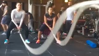 Kareena Kapoor's Post Pregnancy Workout Video