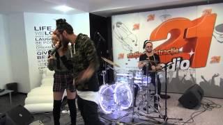 Elena Gheorghe, Glance, Naguale - In bucati (LIVE @ RADIO 21)