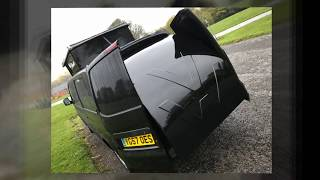 VW T5 Camper Conversion -- 30% Extra Floor Space
