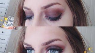 Bold Smokey Eye and Nude Lip    Winter Anastasia