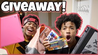 BACK TO SCHOOL SHOPPING WITH CHRIS AND TRAY!!! (GIVEAWAY)