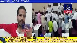 BJP Corporators Thrash MIM Corporater over opposing Vajpayee Tribute