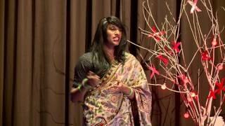 An unapologetic drag queen of India | Alex Mathew | TEDxSGGSCC