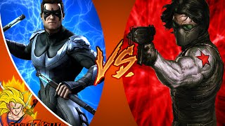 NIGHTWING vs WINTER SOLDIER - Super Power Beat Down (Episode 19) REACTION!!!