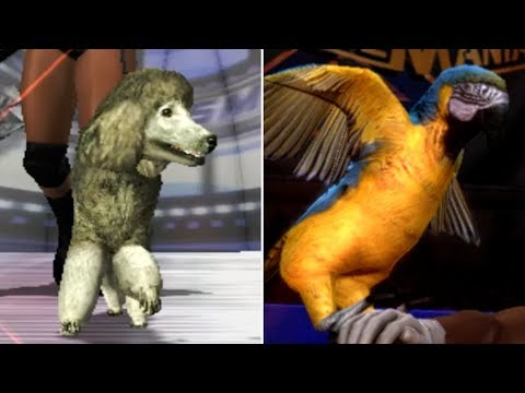 5 Times ANIMALS Have Featured In WWE Games! (WWE 2K Animal Mascots)