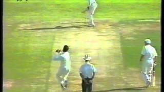 *RARE* Wasim Akram 5-10 of 7 Overs vs Leicestershire County Match  1993