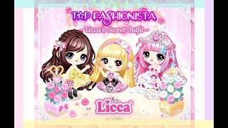 LINE Play - Top Fashionista - All Licca Prizes (50k Points)