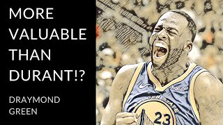 The Warriors 2nd most valuable player   Draymond Green