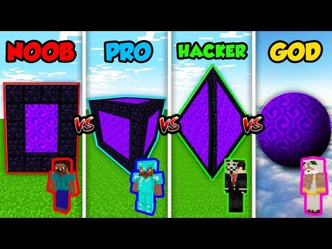 Xxx Mp4 Minecraft NOOB Vs PRO Vs HACKER Vs GOD SECRET PORTAL CUBE In Minecraft Animation 3gp Sex