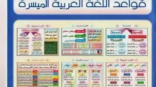 la langue arabe تعلم قواعد اللغة العربية