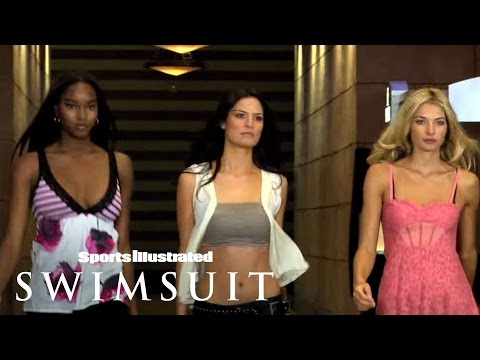 Melissa Haro Jessica Hart & Damaris Lewis Ride Of Their Lives 2009 Sports Illustrated Swimsuit