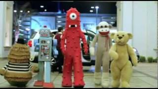 Kia Sock Monkey Commercial