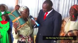 The Healing Of Irene Kemuma From Kisii (Totally Blind Eyes Open)
