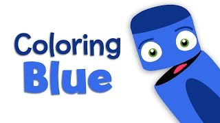 Jeans, Blueberries and Toys | Blue | Learn the Colors | Color Crew | BabyFirst TV