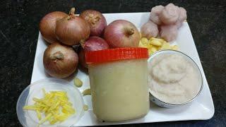 kya Aapka pyaz Ka paste Ka colour badal jata hai? try kare ye tarika or 6 month tak onion store kare