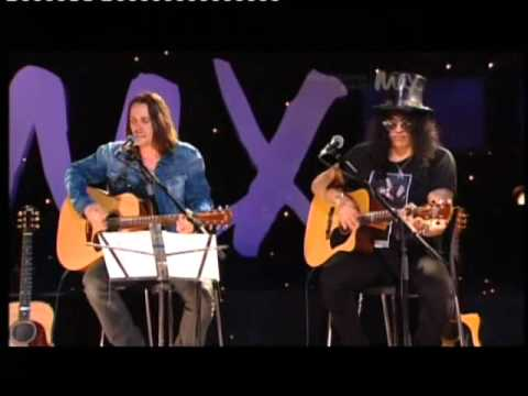 Slash & Myles Kennedy MAX Sessions Fall To Pieces