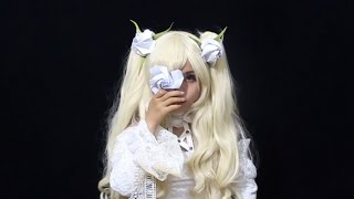 Origami Rose for cosplay (Rozen Maiden Kirakishou)