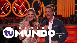 Bailamos al ritmo de Juan Magán y Luciana   Premios Tu Mundo 2016   Entretenimiento
