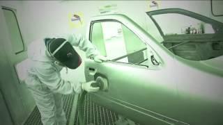 สีพ่นรถยนต์ สีนกแก้ว | Glasurit Fast Repair Process