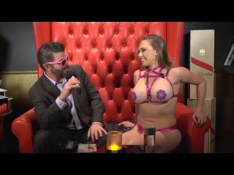 Xxx Mp4 Interviewing Porn Star Kagney Linn Karter On The Hot Seat 3gp Sex