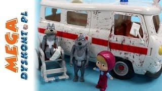 Bajka - Masza i Niedźwiedź - Masza Ratowniczka w Ambulansie! - Simba