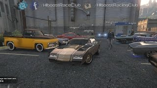 Grand Theft Auto V Online (XB1) | Muscle Car Meet | All Motor Dukes, Drag Racing, Ride Along & More