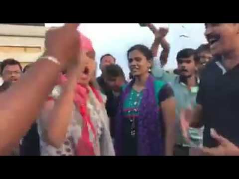 Young Tamil Girls Protest in Marina Beach Part - 3