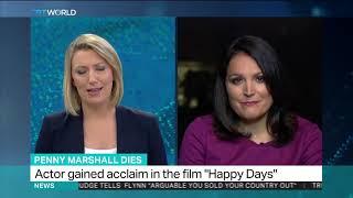 Hollywood director Penny Marshall dies