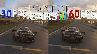 30FPS Vs 60FPS - Project CARS Audi R8 Ultra @ Brands Hatch