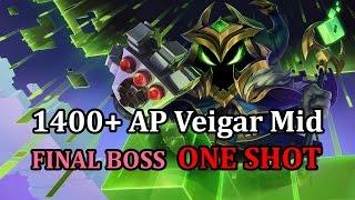 Final Boss Veigar Mid - Veigar vs Zed - League of Legends