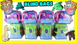 Jungle & Kitty In My Pocket Blind Bags  - Kitty In My Pocket Blind Bags Opening - Toys Videos