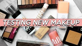 TESTING NEW MAKEUP! What's Hot and Not!? | Jamie Paige