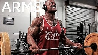 The Rock's ARM Workout