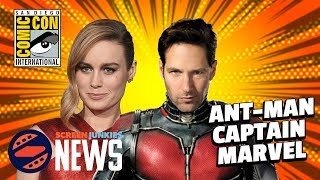 Ant-Man & The Wasp, Captain Marvel, & Panel Reactions! - SDCC 2017