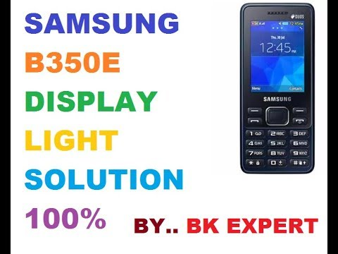 Samsung B350e Display Light Solution Pakvim Fastest Hd Video