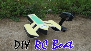 How to Make, Build a RC Boat Rigger - V4 - Go Faster