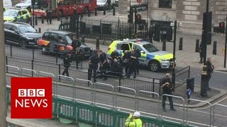 London: Arrest after incident in Whitehall - BBC News